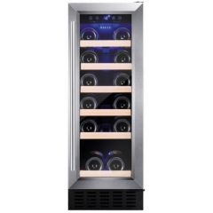 Amica AWC300SS S/Steel Wine Cooler (300 Wide / Single Zone)