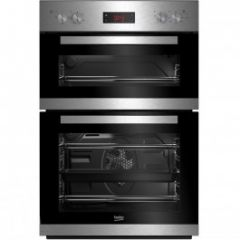 Beko CDFY22309X Built In Electric Double Oven - Stainless Steel - A Energy Rated