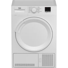 Beko DTLCE80051W 8Kg Condenser Tumble Dryer - White - B Energy Rated
