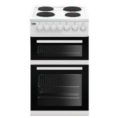 Beko EDP503W White Solid Plate Cooker