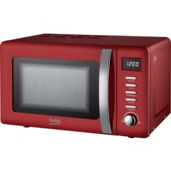Beko MOC20200R Red Retro Style Microwave (20L / 700W)