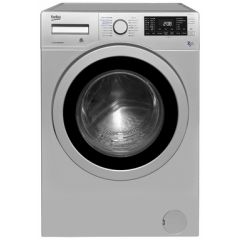 Beko WDR7543121S Silver Washer Dryer (7Kg/5Kg, 1400Spin)