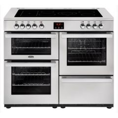 Belling 110EPROFSTA S/Steel Cookcentre 110Cm Electric Range Cooker With Ceramic Top