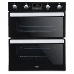 Belling BI702FPBLK Black Double Under Oven
