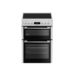 Blomberg HKN65W 60cm Double Oven Electric Cooker with Ceramic Hob - White - A Energy Rated