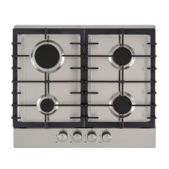 Culina UBGHC601S S/Steel 60Cm Built-In Gas Hob (Unbranded / Lpg Conversion Kit Included)