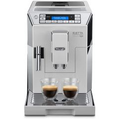 Delonghi ECAM45.760W White Eletta Bean-To-Cup Coffee Machine
