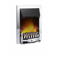 Dimplex STM20CH Chrome Stamford Optiflame Electric Inset Fire