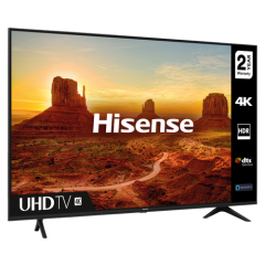 Hisense 50A7100FTUK 50` 4K UHD Smart TV - A+ Energy Rated