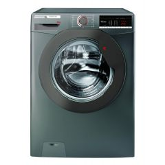 Hoover H3W58TGGE 8kg 1500 Spin Washing Machine - Graphite - A+++ Energy Rated