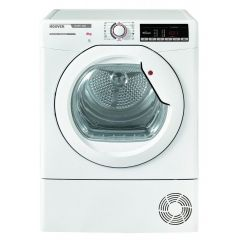 Hoover HLXC8TG 8kg Condenser Tumble Dryer - White - TBC Energy Rated