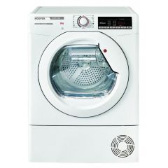 Hoover HLXC9TE 9kg Condenser Tumble Dryer - White - TBC Energy Rated