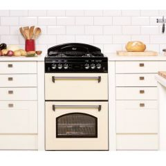 Leisure CLA60GAC Cream 60Cm Gas Cooker (Natural Gas / LPG Convertible - Kit Required)