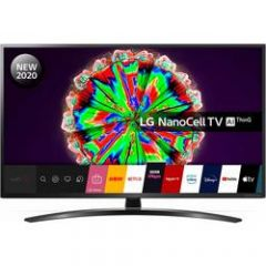 LG 55NANO796NE 55` 4K Ultra HD HDR10 NanoCell Smart TV with Google Assistant + Alexa