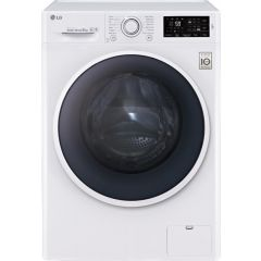 LG F4J608WN White Washing Machine (8Kg/1400Spin)