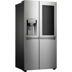 LG GSX960NSVZ S/Steel `Insta-View` American Food Center (Plumbed Ice + Water)