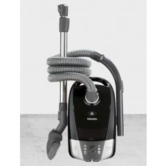 Miele C2POWERLINE Vacuum Cleaner - Obsidian Black