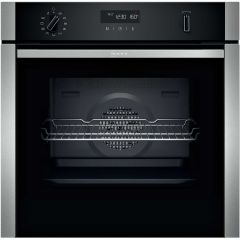 Neff B2ACH7HH0B S/Steel Built In Single Oven (Series N50)