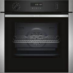 Neff B4ACM5HH0B S/Steel Built In Single Oven (Series N50 - Slide&Hide®)