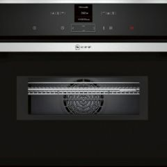 Neff C17MR02N0B S/Steel Built-In Compact Oven With Microwave (Series N70)