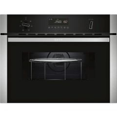 Neff C1AMG84N0B S/Steel Built-In Microwave Combination Oven (Series N50)