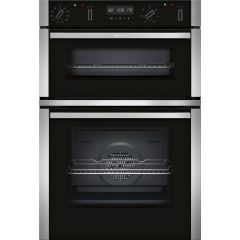 Neff U2ACM7HN0B S/Steel Built-In Double Oven