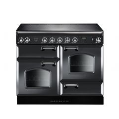 Rangemaster INC110EISL/_122900 Slate Infusion Classic 110 Electric Range Cooker With Induction Hob +