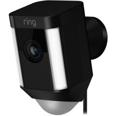 Ring 8SH2P7_BEU0 Spotlight Wired Camera Black