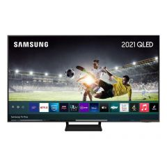 Samsung QE55Q70AATXXU Black 55` 4K QLED Smart TV Quantum HDR powered by HDR10 + 4K picture with AI s