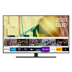 Samsung QE55Q70TATXXU 55` QLED Smart TV - A Energy Rated