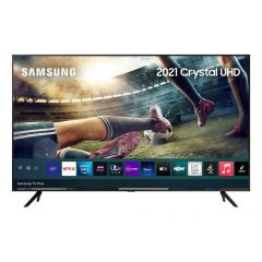 Samsung UE55AU7100KXXU Black 55` 4K UHD HDR Smart TV HDR powered by HDR10+ with Adaptive Sound and B