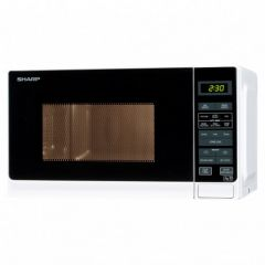 Sharp R272WM White Microwave Oven