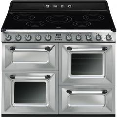 Smeg TR4110IX S/Steel Victoria 110 Electric Range Cooker With Induction Hob
