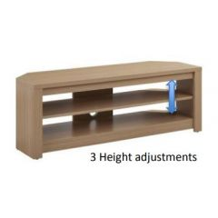 TTAP MEM-1000-OAK Light Oak Memphis 1000 TV Stand
