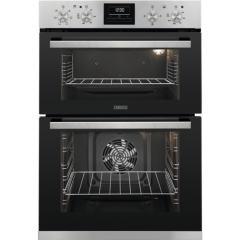 Zanussi ZOA35660XK S/Steel Built-In Double Oven