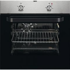 Zanussi ZZB30401XK S/Steel Built In Electric Single Oven - Stainless Steel - A Rated