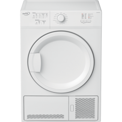 Zenith (Beko Plc) ZDCT700W 7Kg Condenser Tumble Dryer - White - B Energy Rated